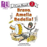 【中商原版】I Can Read Level 2 我可以读2级 糊涂女佣 喝彩 Bravo Amelia Bedelia