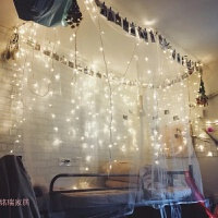 LED彩灯闪灯串灯满天星婚庆节日房间装饰灯串工程亮化树灯小彩灯
