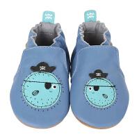 美国直邮/保税区发货 Robeez Blowfish Bob 男童软底学步鞋河豚图案 海外购