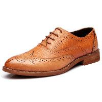 DAZED CONFUSED 2017新款皮鞋男鞋潮鞋英伦布洛克雕花透气休闲鞋小皮鞋