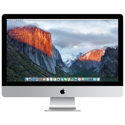 苹果(Apple)iMac 2015年新款一体机 MK462CH/A 3.2Ghz Core i5 处理器 8GB 1TB 2G独显 Retina 5K屏 27英寸官方标配全新原封国行 全国联保 支持验证!