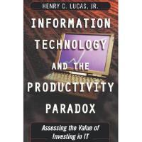 【预订】Information Technology and the Productivity