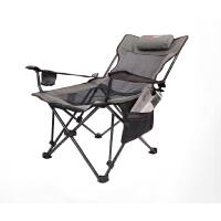 办公室午休沙滩休闲家用便携躺椅靠背扶手户外可折叠钓鱼椅子