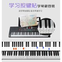 61键儿童电子琴充电钢琴初学者男女孩88玩具3-6-12岁601