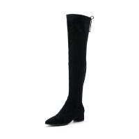 星期六(ST&SAT)冬季专柜同款织物显瘦过膝长靴SS84117131