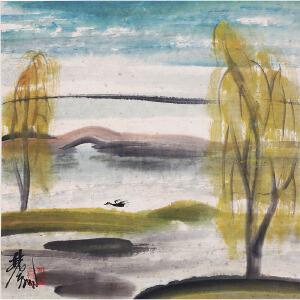 C142 林凤眠(附出版)归雁
