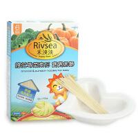 禾泱泱RIVSEA 西兰花南瓜宝宝细面 婴幼儿辅食面条 6个月以上180g
