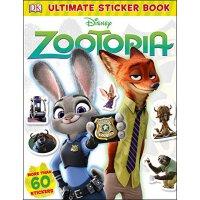 【现货】英文原版儿童书Ultimate Sticker Book: Disney Zootopia 终极贴纸书:迪斯尼