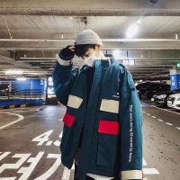 冬装港风棉衣男新款潮流学生工装棉袄立领棉服潮加厚宽松外套