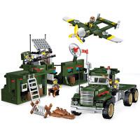 积木拼装玩具益智力儿童军事坦克系列模型礼物