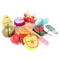男女孩切切看过家家厨房玩具套装儿童切水果蔬菜切切乐玩具
