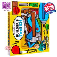 【中商原版】麦克美伦扮演套装:工人的工具箱 Lets Pretend:Builder's Tool Kit 儿童角色扮演