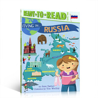 【全店300减100】英文原版 Level 2 Ready-to-Read 儿童阅读系列 Living in Russi