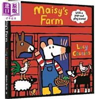 【中商原版】小鼠波波农场剧场 Maisy's Farm 立体书 儿童启蒙纸板书 操作书 英文原版 3-6岁 益智游戏书