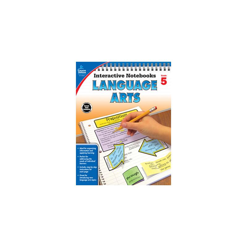 【预订】Language Arts, Grade 5 预订商品,需要1-3个月发货,非质量问题不接受退换货。