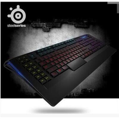 SteelSeries赛睿 Apex 350 有线薄膜电竞 游戏键盘 按键背光 炫彩灯光 支持宏按键