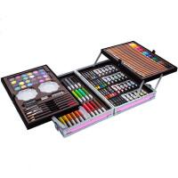 画画工具儿童绘画套装美术画笔水彩笔彩铅小学生学习用品生日礼物惊喜的文具礼物节日礼品圣诞礼物