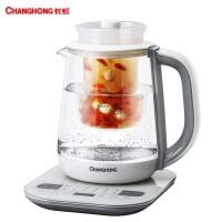 长虹1.8L养生壶煮茶壶煎药壶玻璃电水壶烧水壶多功能大容量CHG32
