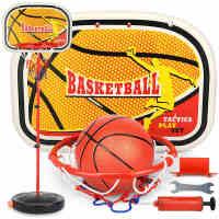 男孩宝宝户外运动小孩玩具2-3岁儿童篮球架可升降室内铁杆投篮框