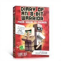 【全店300减110】英文原版 Diary of an 8-Bit Warrior 英雄史蒂夫战士 儿童课外英文阅读 7
