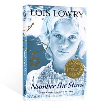 英文原版绘本小说 Number the Stars Lois Lowry 数星星 洛伊丝劳里 1990年纽伯瑞金奖 9-12岁