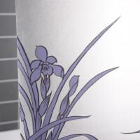 玻璃贴膜阳台浴室推拉门装饰磨砂防水窗户贴纸窗花纸
