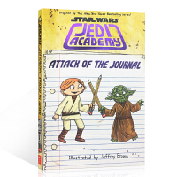 英文原版 STAR WARS: JEDIACADEMY: ATTACK OFTHE JOURNAL 星球大战之绝地武士