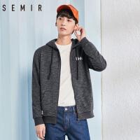 森马卫衣男2018春季新款男士连帽运动外套潮流学生韩版男生帽衫