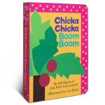 【发顺丰】英文原版 廖彩杏百本读绘本 Chicka Chicka Boom Boom 叽喀叽喀碰碰 纸板