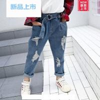 女童长裤春装2018新款韩版儿童休闲裤春秋款小女孩裤子