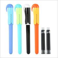 晨光文具直液式钢笔组合卡装学生墨水笔墨蓝/黑色HAFP0666直液式钢笔卡装