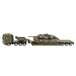 [当当自营]siku 德国仕高 1:87 重型运输卡车与坦克 合金车模玩具 U1872