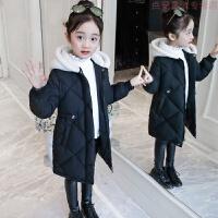 女童棉衣2018新款儿童洋气冬装羽绒外套大童棉袄12岁女孩韩版