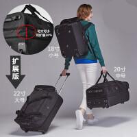 拉杆包行李包袋女手提大容量韩短途轻便折叠帆布男旅行箱双肩背包