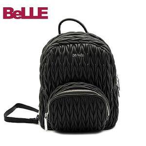 Ist belle/百丽箱包专柜同款绣线人造革双肩背包11786DX6
