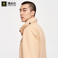 凯乐石户外冲锋衣男春季新款工装休闲防水防风外套KG2111501