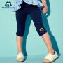 【8.19日秒杀价:12】迷你巴拉巴拉女童打底裤夏新品宝宝裤子儿童修身印花休闲裤
