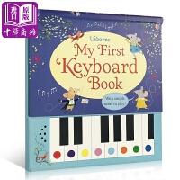 【中商原版】我的首本钢琴书 英文原版 My First Keyboard Book 精装 音乐启蒙 玩具书
