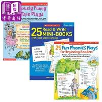【中商原版】学乐词汇学习书3册 英文原版 童话故事 读写练习 自然拼读游戏