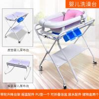 婴儿打理台 婴儿尿布台新生儿按摩护理台可折叠多功能便携婴儿洗澡台M