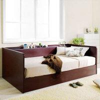 百意空间 定制储物床 小户型 韩式榻榻米 俩用双人床 单人沙发床 板式