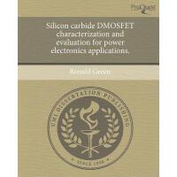 【预订】Silicon Carbide Dmosfet Characterization and
