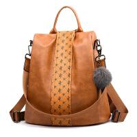 包包女2018新款潮韩版双肩包时尚百搭两用旅行女士背包大容量书包
