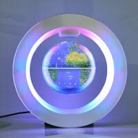 发光磁悬浮地球仪办公室桌面摆件创意生日礼物礼品4寸地球仪