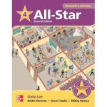 【预订】All Star Level 4 Teacher's Edition