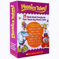 【全店300减100】英文原版正版 Phonics Tales 25册 趣味知故事集:自然拼读绘本 sight word