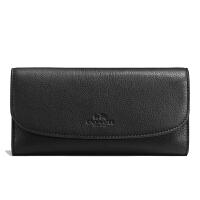 【当当自营】蔻驰(COACH)新款时尚女士卵石皮革卡包钱包手拿包 F56488