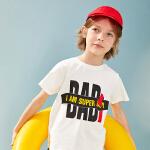 【7.12品秒价:29.9】巴拉巴拉旗下男童上衣短袖t恤2020夏装儿童新款洋气圆领t男