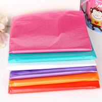一次性桌布台布加厚婚庆派对酒店家用圆桌桌布彩色塑料布10个