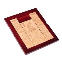 玩具 小学生滑动拼图木质三国七巧板儿童